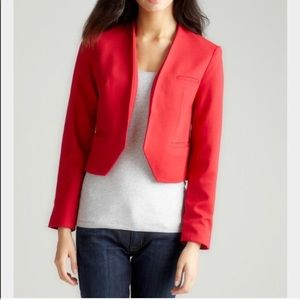 Premise Red Open Front Jacket